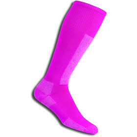 Thorlos Light Weight Ski Over The Calf Socks schuss pink